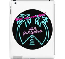san junipero iPad Case/Skin