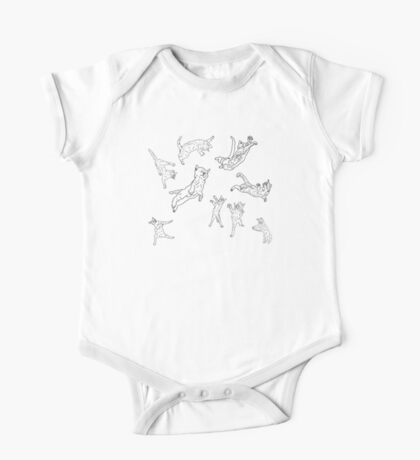 Cosmic Cat Space  One Piece - Short Sleeve