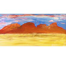 Outback Sunset Photographic Print