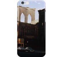 Brooklyn Bridge 1970 iPhone Case/Skin