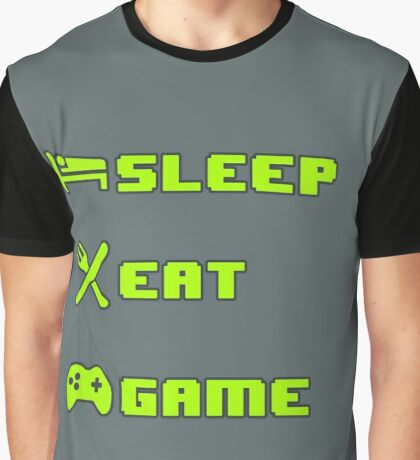 Gamer's Life - Cycles Graphic T-Shirt