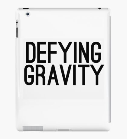 Defying Gravity iPad Case/Skin