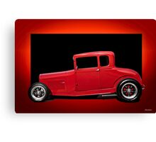 1928 Ford Coupe 'Perfection in Red' III Canvas Print