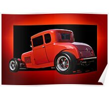 1928 Ford Coupe 'Perfection in Red' II Poster