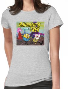 Adventure Trek! Womens Fitted T-Shirt