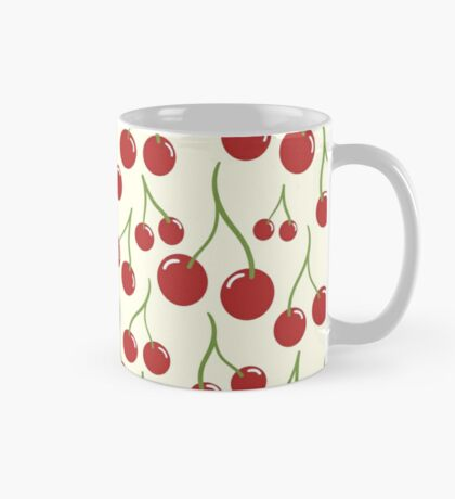 Cherry seamless pattern Mug