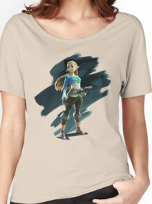 Zelda (The Legend of Zelda: Breath of the Wild) Women's Relaxed Fit T-Shirt