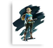 Zelda (The Legend of Zelda: Breath of the Wild) Canvas Print