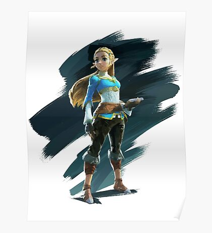 Zelda (The Legend of Zelda: Breath of the Wild) Poster
