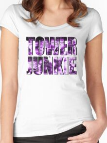Tower Junkie Women's Fitted Scoop T-Shirt