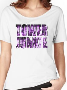 Tower Junkie Women's Relaxed Fit T-Shirt