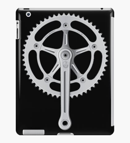 Campagnolo Track Chainset, 1974 iPad Case/Skin