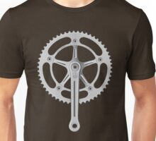 Campagnolo Track Chainset, 1974 Unisex T-Shirt