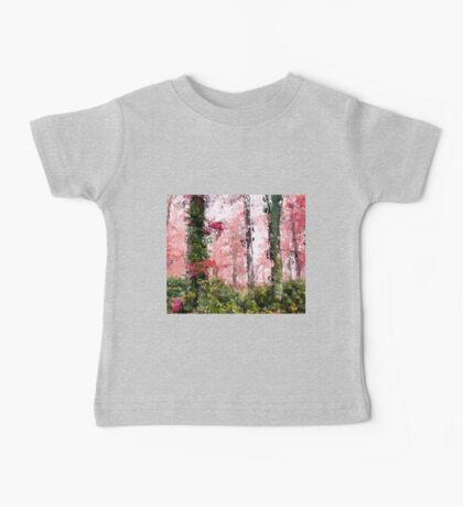 Abstract Forest Baby Tee
