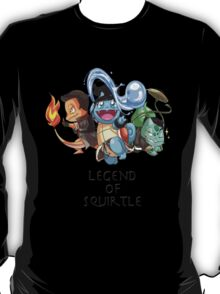 Legend of Squirtle T-Shirt