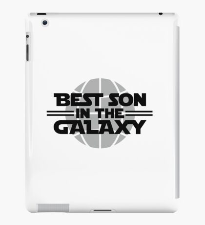 Best Son In The Galaxy iPad Case/Skin
