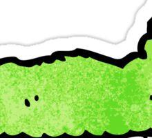 cartoon caterpillar Sticker