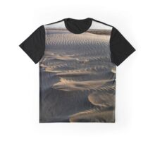 Waves of sand Midsland beach Graphic T-Shirt