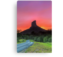 The Road to Mt Coonowrin - Glasshouse Mountains Qld Australia Canvas Print