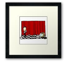 February 24th, Entering the town of Twin Peaks Framed Print