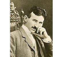 Nikola Tesla, Serbian-American Inventor Photographic Print