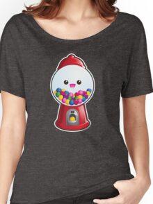 Kawaii Gum Ball Machine Women's Relaxed Fit T-Shirt