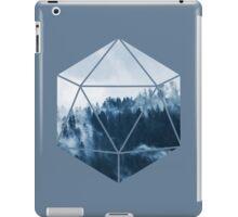 D20 - Misty Treetops iPad Case/Skin