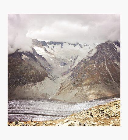Gletscher Visp 2014 Photographic Print