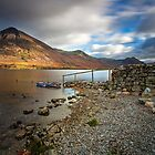 Last Light over Crummock Water English Lake District by Martin Lawrence
