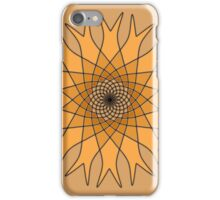 Bachelor Buttons Orange Flower Sunflower iPhone Case/Skin