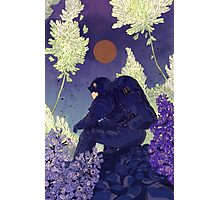 Lilac Astronaut Photographic Print