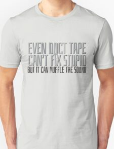 Even Duct Tape T-Shirt