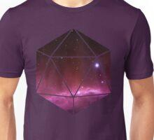 D20 - Pink Nebula Unisex T-Shirt