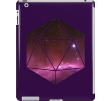 D20 - Pink Nebula iPad Case/Skin