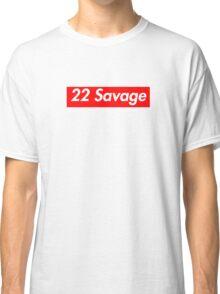 22 Savage - Supreme font Classic T-Shirt