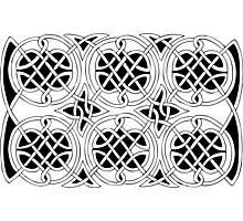 Celtic knot 1 Photographic Print