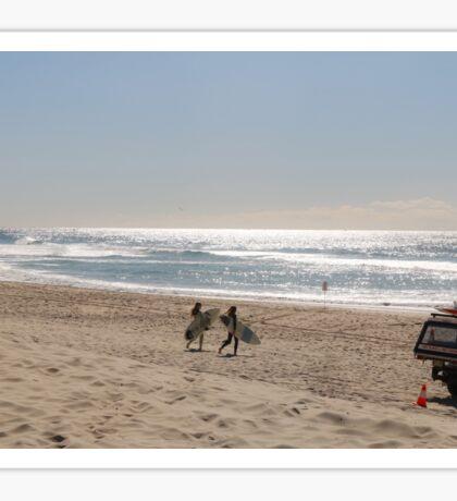 Gold Coast surfers Sticker