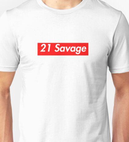 21 Savage - Supreme Font Unisex T-Shirt
