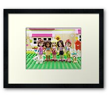 Best Friends Forever! Framed Print
