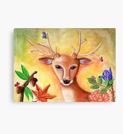Nature Deer Canvas Print
