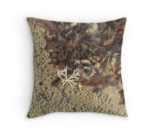 Natures Beach Art Throw Pillow