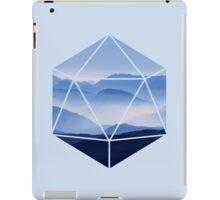 D20 - Misty Mountains iPad Case/Skin