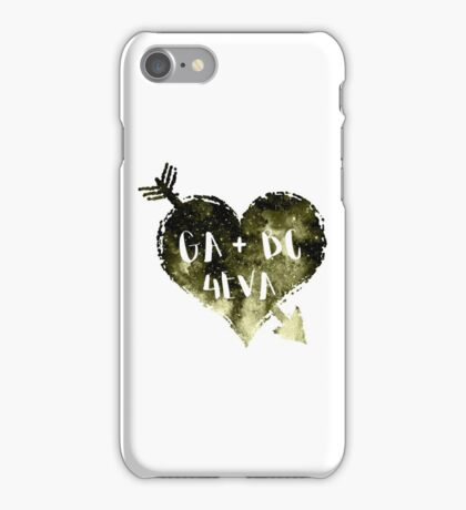 Green Arrow and Black Canary Forever iPhone Case/Skin