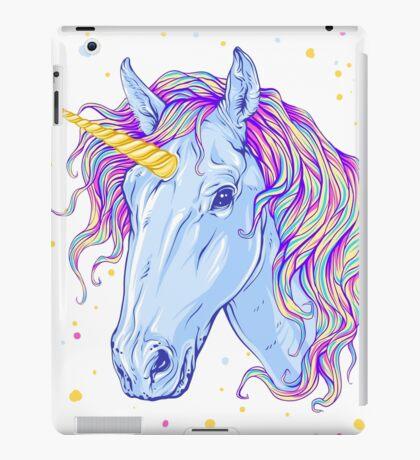Cute Fabulous Unicorn iPad Case/Skin