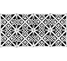 Celtic knot 2 Photographic Print