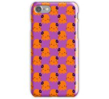 Halloween Flower Octopus Pattern iPhone Case/Skin