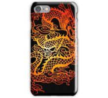 fiery dragon iPhone Case/Skin