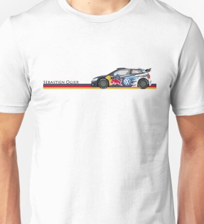sebastien ogier Unisex T-Shirt