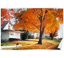Leaf-fall Poster