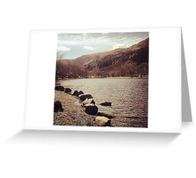 Road Trip Lochs and Mountains Greeting Card